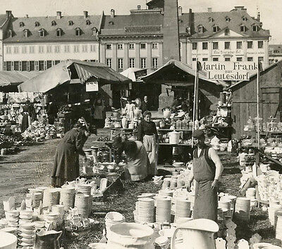 AN OPEN AIR CHINA MARKET KOBLENZ GERMANY STEREOVIEW