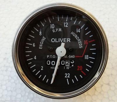 Oliver Super Late Super 55 550 Gas Diesel Tractor Tachometer 100577a