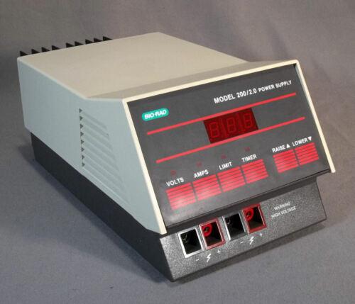 Bio-Rad Model 200/2.0 Electrophoresis Power Supply