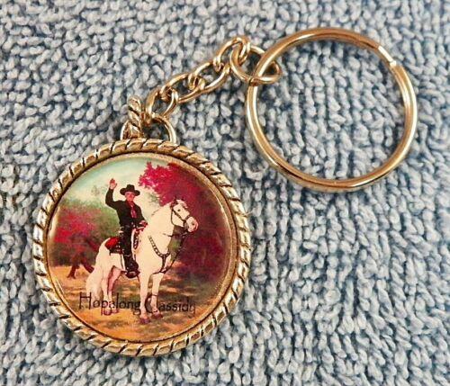 Hopalong Cassidy Key Ring - Chain