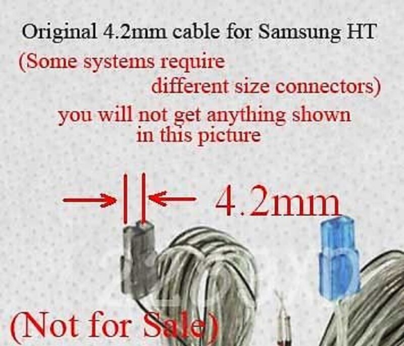 3 4.2mm speaker wire connectors made for Select Samsung Panasonic ...