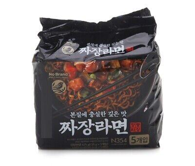 Korean Instant Black Bean Sauce Noodle E-MART JJAJANG RAMYUN Ramen 5pack Set
