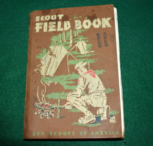 VINTAGE BOY SCOUT - 1949 BOY SCOUT FIELDBOOK