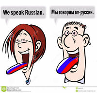 Professional russian lessons with native speaker!