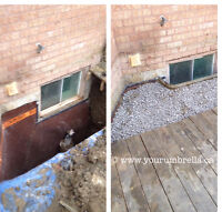 #1 WATERPROOFING EXPERTS: SOLID RESULT & FREE QUOTE 289-805-8275