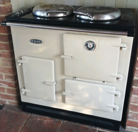 Esse cream electric range cooker for sale