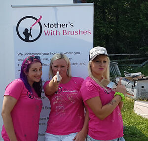 Mother's With Brushes - Team of All Female Painters - Free Quote