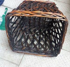 Brown Wicker Basket Large