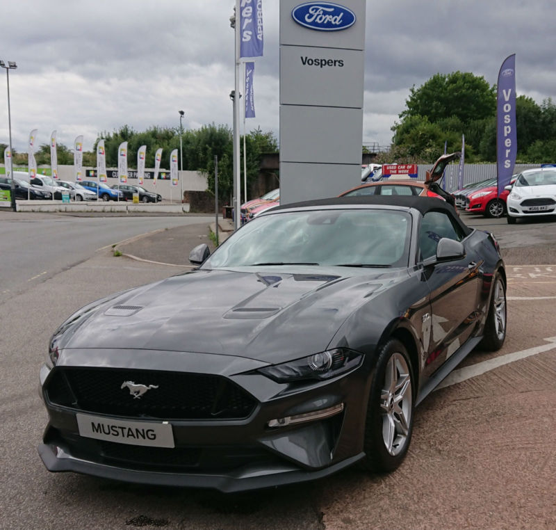 2018 ford mustang 50 v8 convertible face lift model in