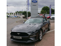 2018 Ford Mustang 5.0 V8 convertible face lift model in Magnetic Grey mettalic