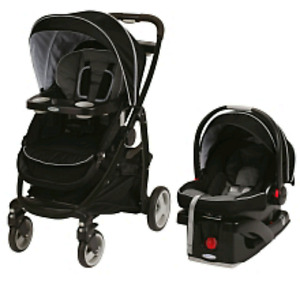 Graco click connect travel system-Onyx