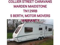 2006 Abbey spectrum 620 /5 berth caravan +motor movers