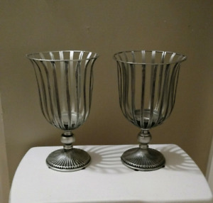2 Metal Candle Holder (New)