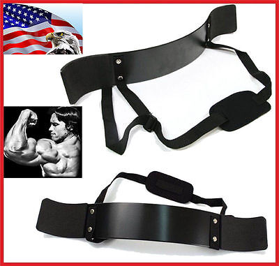 Heavy Duty Arm Blaster Isolator Body Building Bomber Bicep Curl Triceps USA