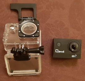 Action Camera with Attachments