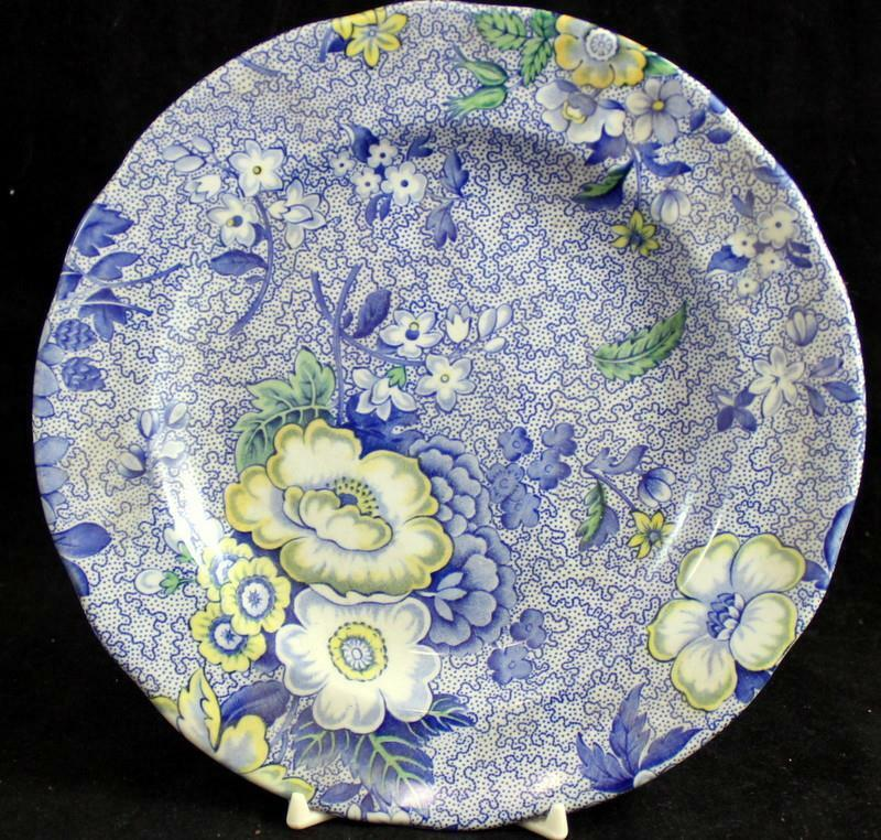 Spode BLUE CHINTZ Salad Plate S3705 GREAT CONDITION