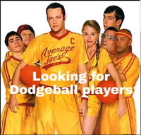 Looking for Dodgeball players - No experience required