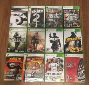 Xbox 360 Games $40 for all