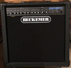 BECKEMER amplifier   GC-50R amp. 50 watts.
