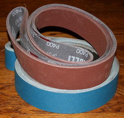 2x72 Sanding Belt 16pc Assortment Knife Making  Kit AZ-Zirc