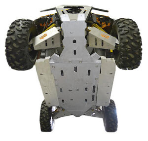 Ricochet 9-Piece Skid Plate Set, Can-Am Maverick - ATV TIRE RACK