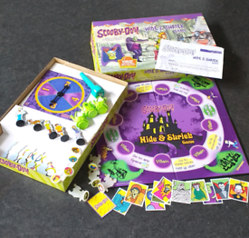 Scooby - Doo Hide and Shriek Board Game