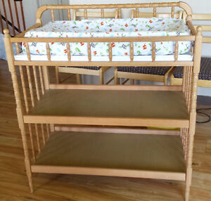 Change Table with Mattress/Pad