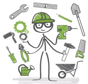 Odd jobs electrical plumbing carpentry mowing yardwork
