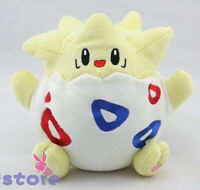 "Nintendo Pokemon Togepi Plush Toy Stuffed Animal Soft Doll 8"" Great Gift"