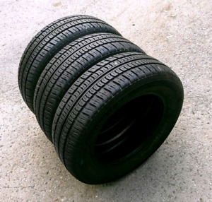 Set of 185/65/14 Motomaster se all season tires. 8/32nd tread