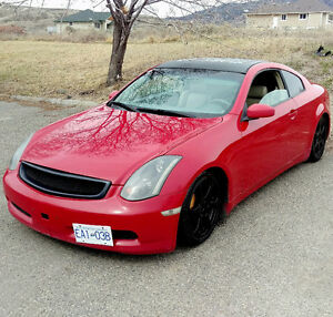 2003 Infiniti G35 Coupe 6 SPEED! Modded