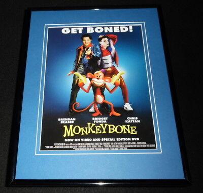 Monkeybone 2001 Framed 11x14 ORIGINAL Advertisement Brendan Fraser
