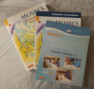 Mosby's for the Support Worker Set – Textbook, Workbook, Videos