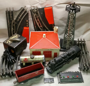 Marx #999 Locomotive Train Set & Accessories