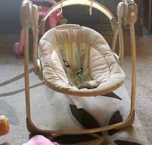 Baby self rocking chair