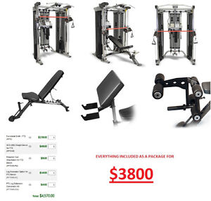 INSPIRE FITNESS FUNCTIONAL SMITH FT2 COMPLETE PACKAGE