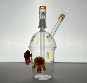 CHEECH Concentrate Honey Oil Rig Wax Dab Water Pipe Glass Dabber
