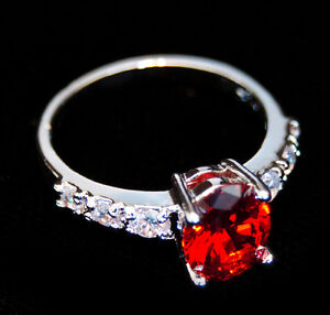 Deep Red Ring