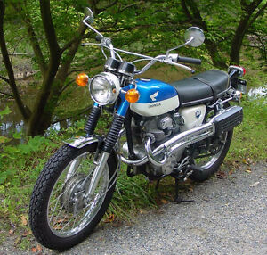 Honda CL350 or CB350-4
