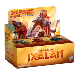 magic the gathering rivals of ixalan sealed case (6 booster box)