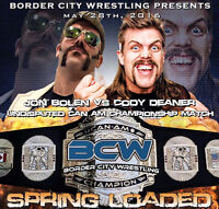 BCW Spring Loaded 2016