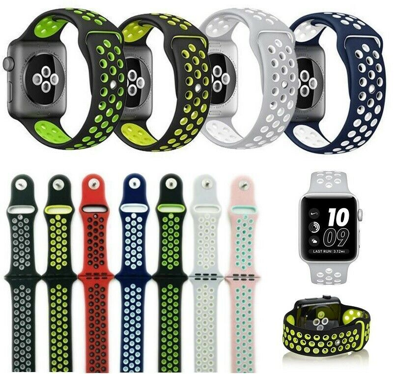 Fitness Silicone Band for Apple Watch Nike+ Sports Bracelet Series 1 2 3 4 Jewelry & Watches