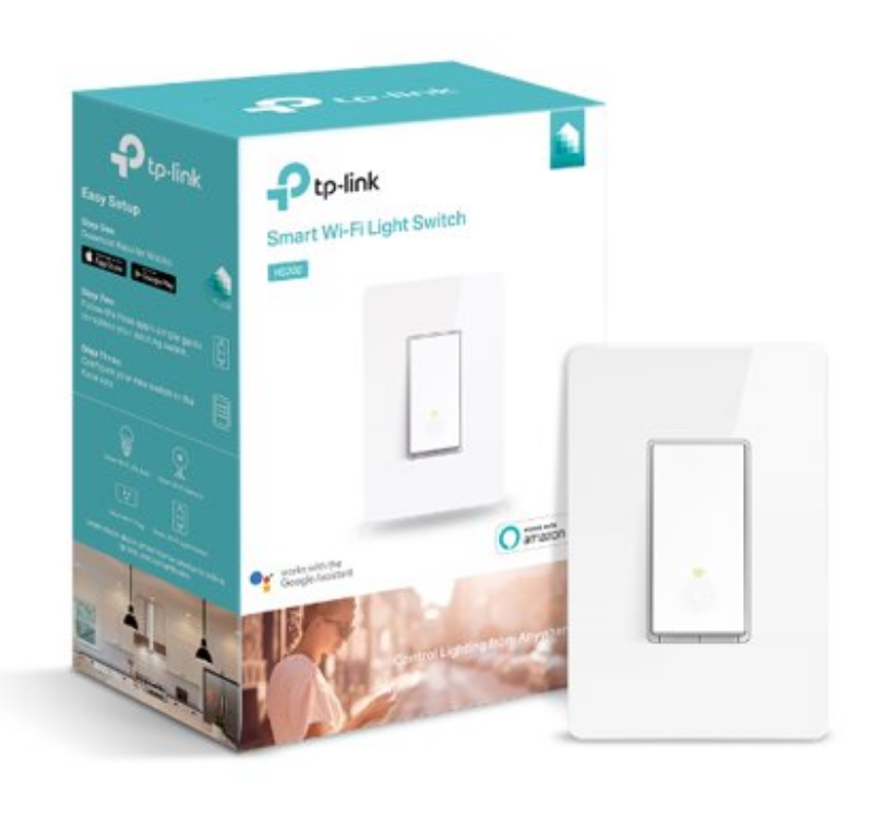 NIP TP-Link HS200 In-Wall Smart Switch Smart Wi-Fi Light Switch, No Hub Required