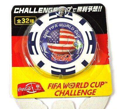 Coca-Cola Coke Schlüsselanhänger aus Japan WM 2006 - USA