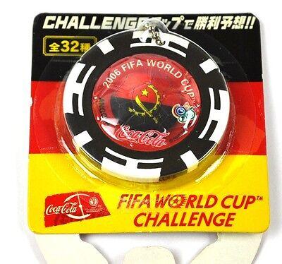 Coca-Cola Coke Schlüsselanhänger aus Japan WM 2006 - Angola