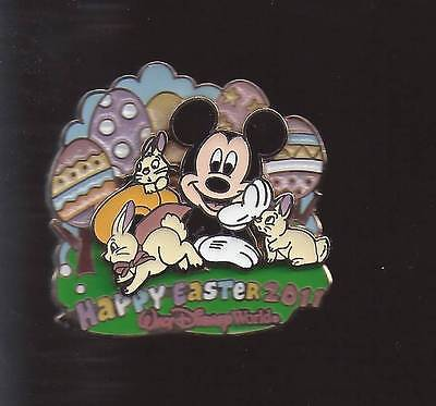 DISNEY WDW 2011 HAPPY EASTER MICKEY MOUSE WITH BUNNIES AND EATER EGGS 3D LE 1000