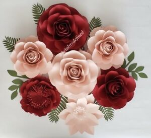 Paper flowers for rent or sale