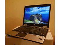 "HP Elitebook 2530p, 12.1"" Widescreen, windows7, 2GB Ram, 120GB Hard Drive, excellent Cond"