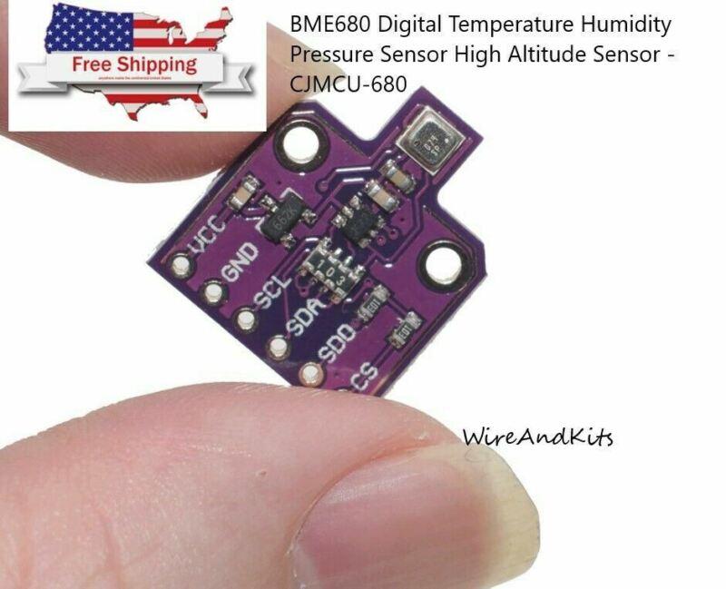 BME680 Digital Temperature Humidity Pressure Sensor High Altitude Sensor-US Sell