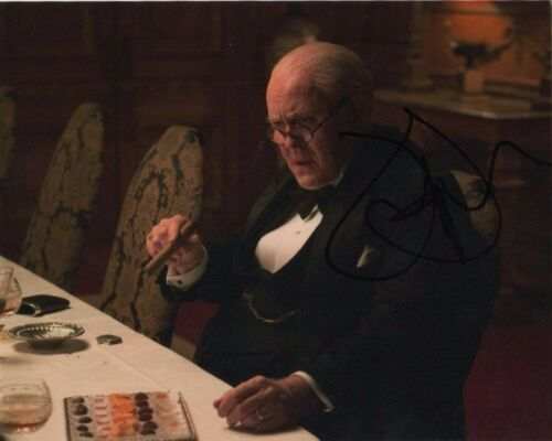 Jonn Lithgow The Crown Autographed Signed 8x10 Photo COA